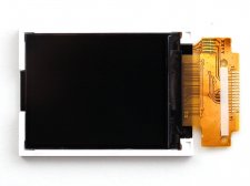 "1.8"" SPI TFT display, 160x128 18-bit color - ST7735 driver"