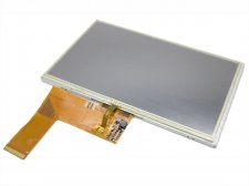 "7"" inch 800x480 TFT LCD Display + Touch Panel, Standard 40 PIN"