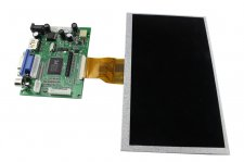 "7"" 800x480 TFT Display for Raspberry Pi - HDMI/VGA/NTSC/PAL"