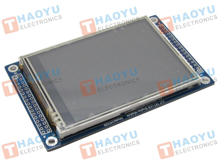 "3.2"" Touch Screen TFT LCD with 16 bit parallel interface - Click Image to Close"