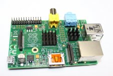 Raspberry Pi + expansion board, Silicone four Heatsink Package