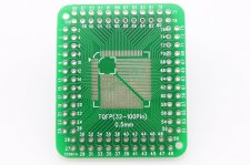 TQFP32-64 pin 0.8mm & TQFP32-100 pin 0.5mm - Breakout Board