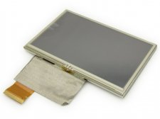 "4.3"" inch 480x272 TFT LCD Display + Touch Panel, Standard 40 PIN"