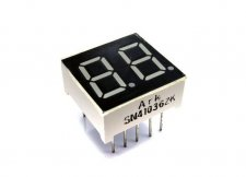 "0.36"" Dual Digit Numeric Display Common Cathode"