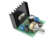 TDA7297 Amplifier Board / Dual-channel Noise-Free AC and DC