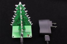 Flashing Christmas Tree Kit(Assembled)