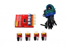 4-way Infrared Tracking Sensor