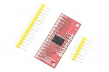 High Speed Analog/Digital MUX Breakout - CD74HC4067 for Arduino