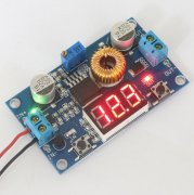 75W 5A DC-DC converter adjustable voltage with LED Display
