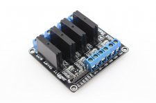 Four channel Solid State Relay Module