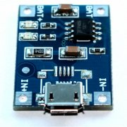 TP4056 - Micro USB 5V 1A Lithium Battery Charger Module