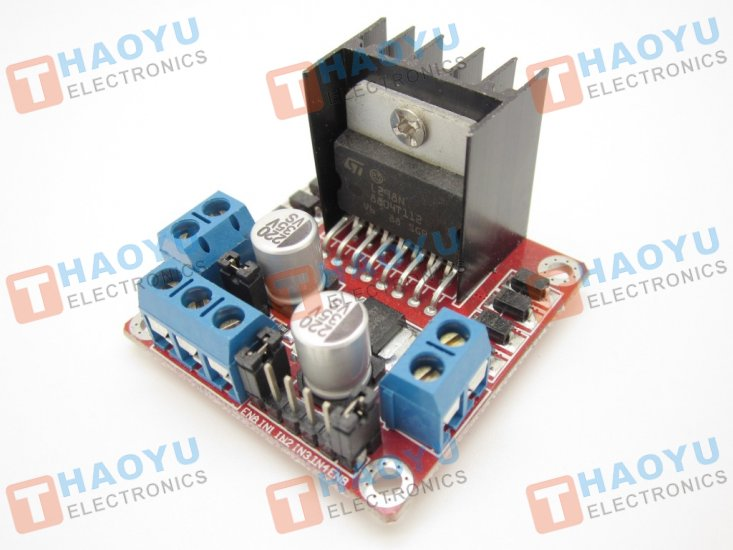 Motor Driver 2A Dual L298 H-Bridge - Click Image to Close