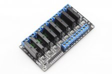 Eight channel Solid State Relay Module