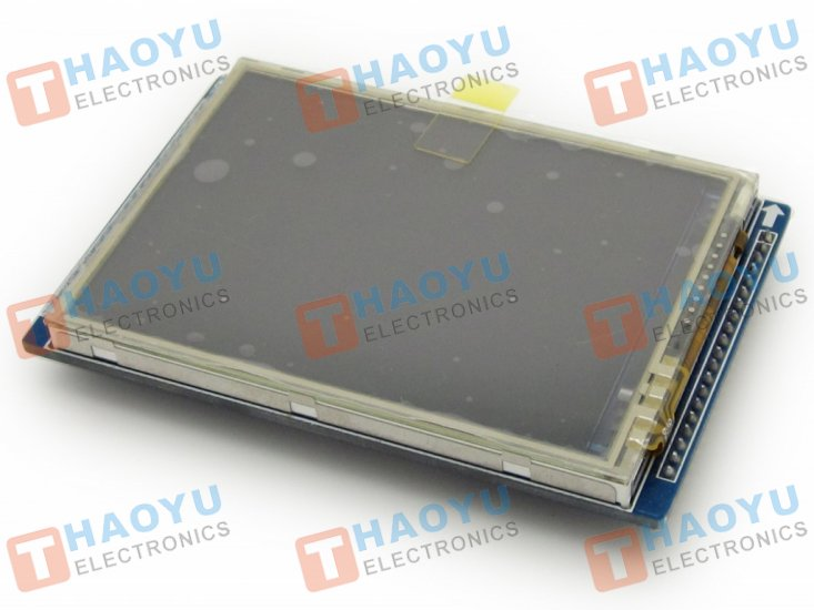 "2.8"" Touch Screen TFT LCD with 16 bit parallel interface - Click Image to Close"