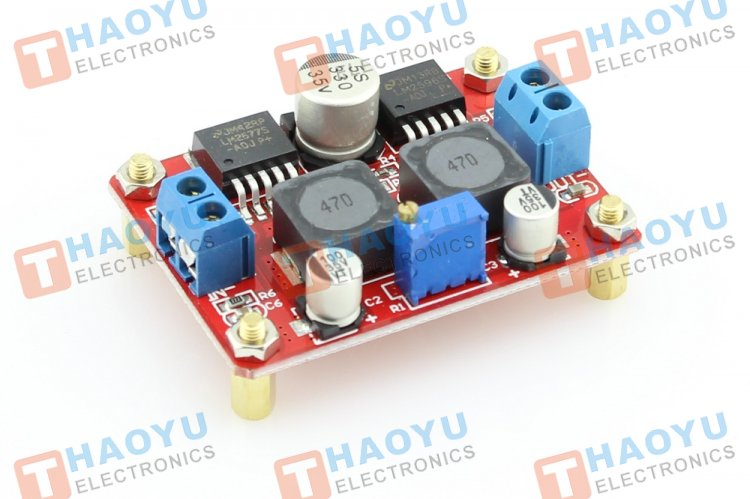 Boost And Buck Voltage Converter LM2577 & LM2596 - Click Image to Close
