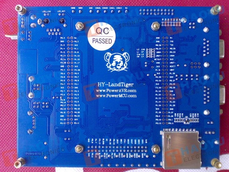 "NXP LPC1768 V2.0 DevBoard + 3.2""TFT Color LCD + JLink on board - Click Image to Close"