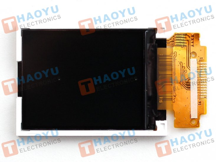 "1.8"" SPI TFT display, 160x128 18-bit color - ST7735 driver - Click Image to Close"