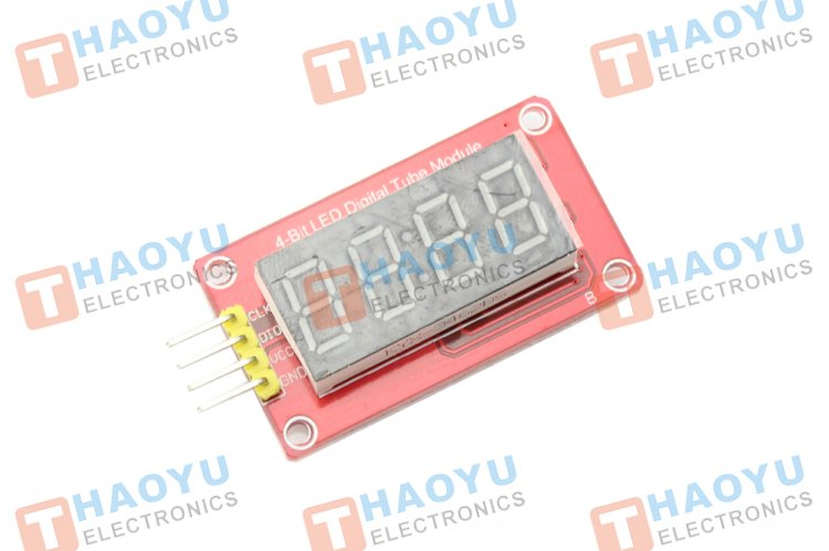 4 Bits Digitron Display Module Board For Arduino - Click Image to Close