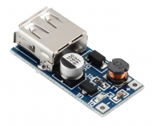 0.9V-5V input, 5V USB Output Boost Regulator Module