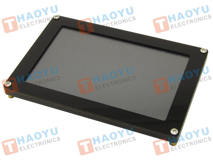 "5"" Graphical IPS LCD capacitive touch screen, 800x480, SPI FT811 - Click Image to Close"