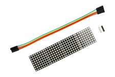 Cascaded MAX7219 Dot Matrix Module