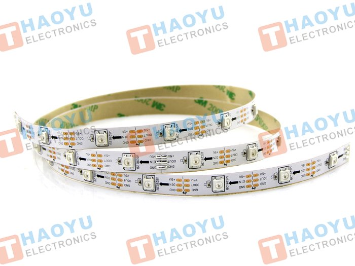 WS2812 Digital RGB LED Flexi-Strip 30 LED - 1 Meter - Click Image to Close