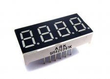 "0.36"" Four Digit Numeric Display Common Anode"