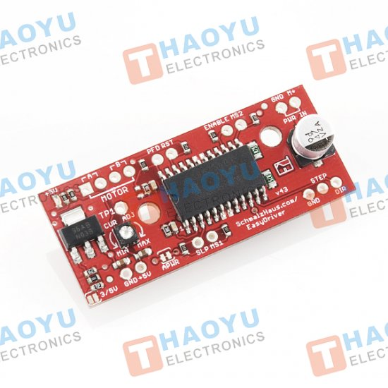 EasyDriver V4.4 Stepper Motor Driver - Click Image to Close