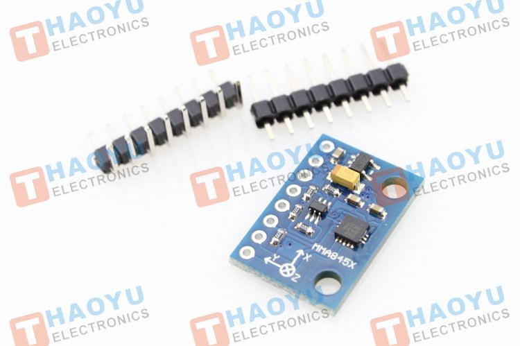 Triple Axis Accelerometer - MMA8452Q - Click Image to Close