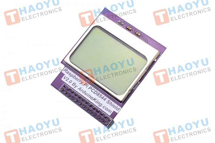 5110 Mini LCD 84*48 PCD8544 Shield For Raspberry Pi Model B+/B - Click Image to Close