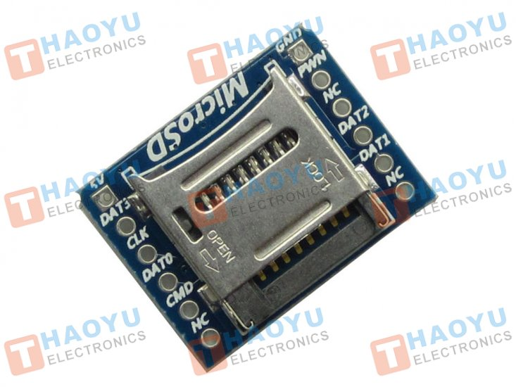 Micro SD(TF) Card Breakout Module - Click Image to Close