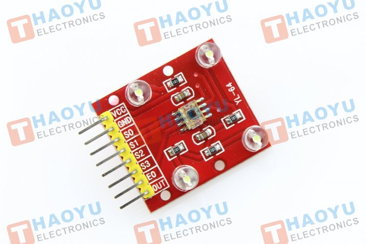 TCS3200 Colour Sensor Module - Click Image to Close