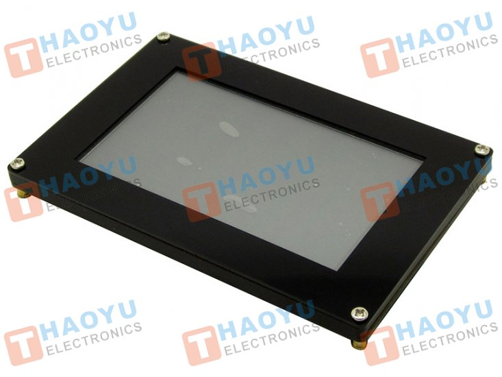 "4.3"" Graphical LCD Touchscreen, 480x272, SPI, FT800 - Click Image to Close"
