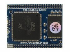 System on chip module with STM32F429IGT6 CORTEX-M4 microcontroll