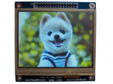 "3.5"" Touch Screen TFT LCD with 16 bit parallel interface"