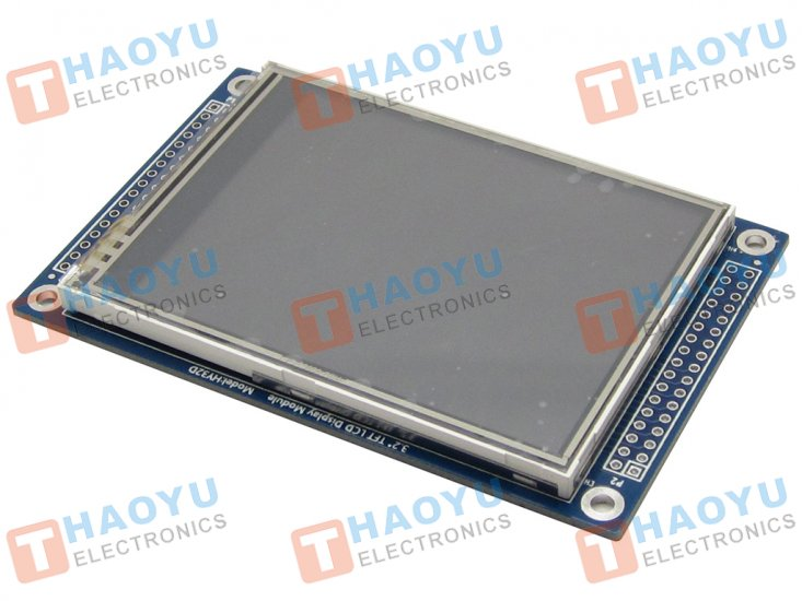 "3.2"" Touch Screen TFT LCD Module - ILI9325 - Click Image to Close"