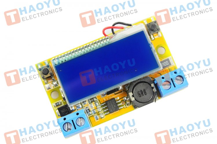 Adjustable DC-DC Step Down Power Supply Module With LCD Display - Click Image to Close