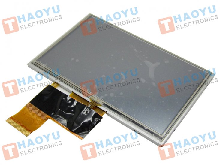 "5"" inch 480x272 TFT LCD Display + Touch Panel, Standard 40 PIN - Click Image to Close"