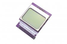 5110 Mini LCD 84*48 PCD8544 Shield For Raspberry Pi Model B+/B