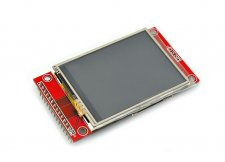"2.4"" Touch Screen TFT LCD with SPI Interface, 240x320"