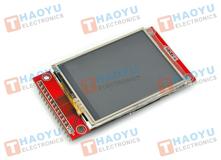 "2.4"" Touch Screen TFT LCD with SPI Interface, 240x320 - Click Image to Close"