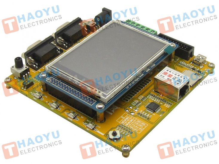 "STM32F107VCT6 Development Board + 3.2"" TFT LCD - Click Image to Close"