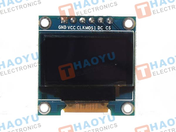 "SSD1306 0.96"" 128×64 OLED Display – I2C/SPI Interface - Click Image to Close"