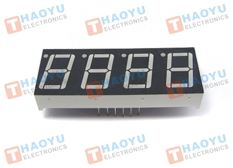 "0.56"" Four Digit Numeric Display Common Anode - Click Image to Close"