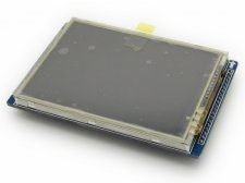 "2.8"" Touch Screen TFT LCD with 16 bit parallel interface"