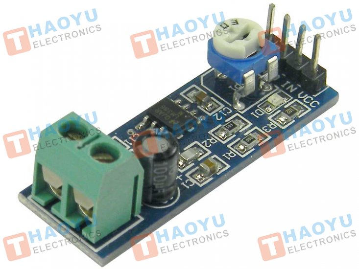 LM386 Audio Amplifier Module - Click Image to Close