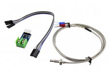 K-Type Thermocouple with Digital Converter (0°C to +1024°C)