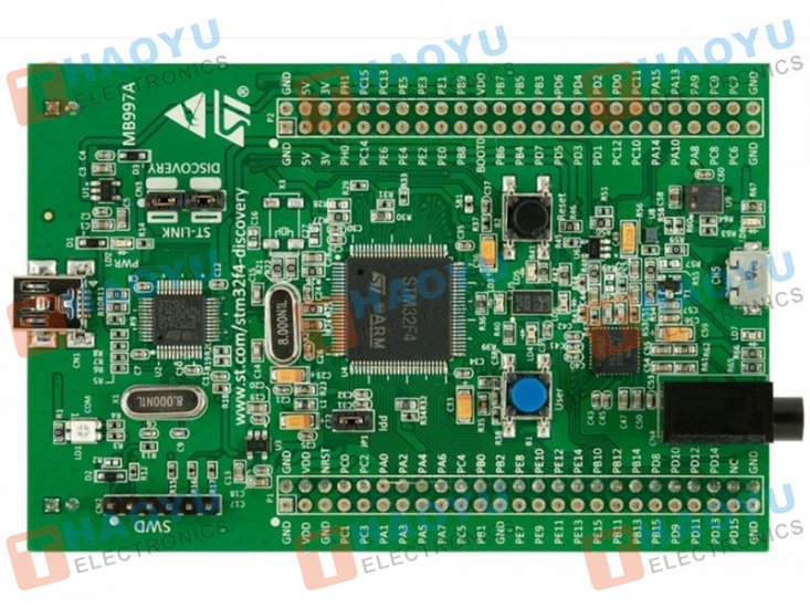 STM32F4DISCOVERY Evaluation Development Board - Click Image to Close