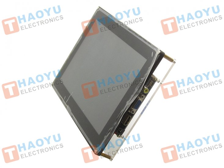 "10.1"" Display 1024x600 LCD monitor with case - Click Image to Close"