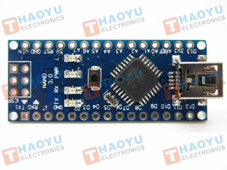 Arduino Nano V3.0 ATmega328P - Click Image to Close